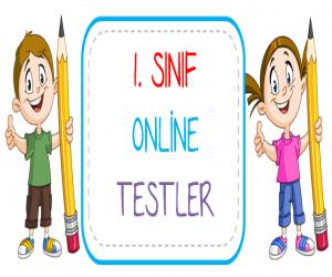 1. Sınıf Online Türkçe Testi – 1